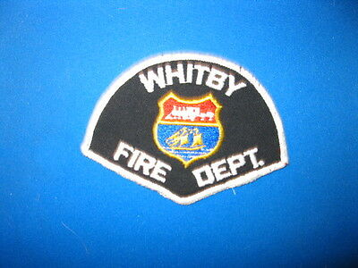 Whitby (Ver 2) Fire Dept.  Patch - Ontario