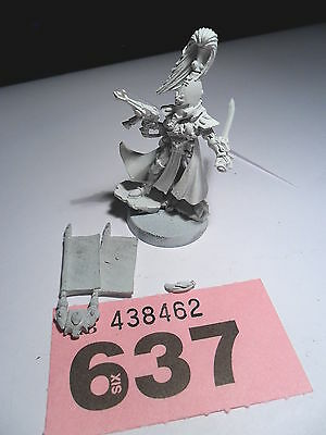 Warhammer 40k  limited edition Eldar army box autarch rare lot 637