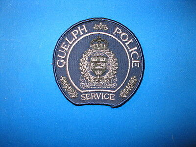 Guelph Police Tactical Patch (Blue) - Ontario