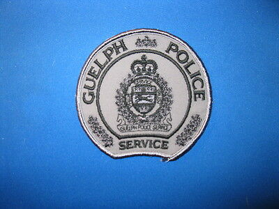 Guelph Police Tactical Patch (Grey) - Ontario
