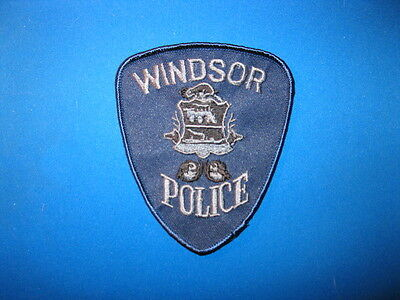 Windsor Police Tactical Patch (Blue) - Ontario