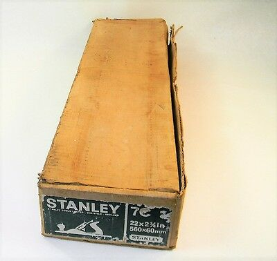 Minty In Box Stanley # 7 C Corrugated Bottom Plane Inv T2291