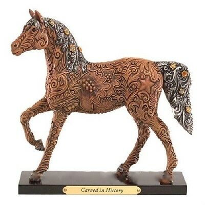 Trail of Painted Ponies CARVED IN HISTORY FIGURINE New in Box, 1st Edition