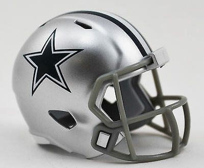 NEW NFL American Football Riddell SPEED Pocket Pro Helmet DALLAS COWBOYS