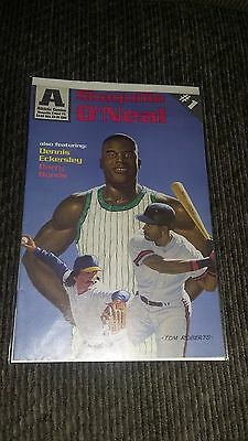 Athletic Comics Shaquille O'neal #1 W/ Dennis Eckersley & Barry Bonds