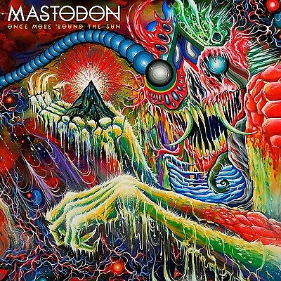 Mastodon - Once More Round the Sun - New Double Coloured Vinyl LP - Gatefold