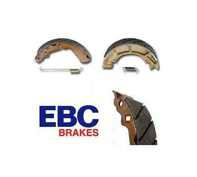 EBC Grooved Brake Shoes Front fits Suzuki TM-400 Cyclone 1971-1975