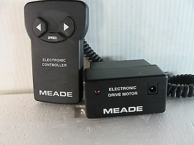 Meade Elecronic Drive Motor  with electronic Controller for Telescope , untested