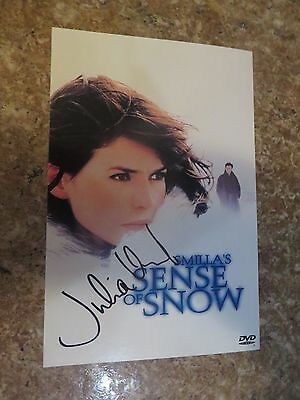 Signed Autographed DVD Insert Smilla's Sense Of Snow - Julia Ormond