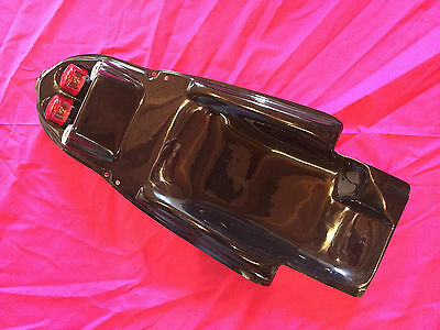 Suzuki GSXR K1 K2 K3 600 750 1000 Twin tail light tail tidy undertray BLACK