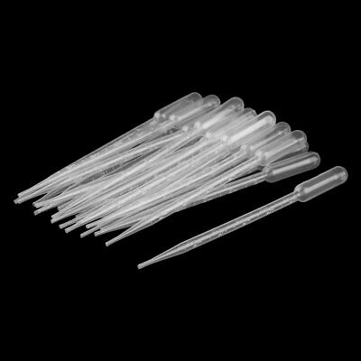 Plastic Transfer Pipettes Graduated Dropper Clear 5ml Capacity 20 Pcs