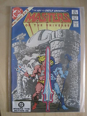 MASTERS of the UNIVERSE #  2 (of 3). SKELETOR, HE-MAN. TV SERIES. DC.1983