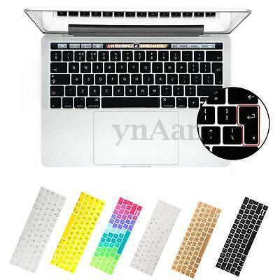 Silicone Copri Tastiera Keyboard Per 2016 New Macbook Pro 13''/15'' EU Version