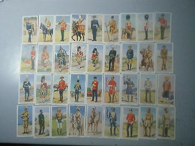 Godfrey Phillips 1939 Soldiers of the King Set (non Adhesive)