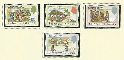 Solomon Topical Scott 699-702 Mnh Scv $8