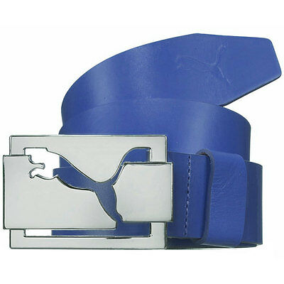 50% OFF RRP Puma Golf Mens High Shine Leather Belt - Surf The Web
