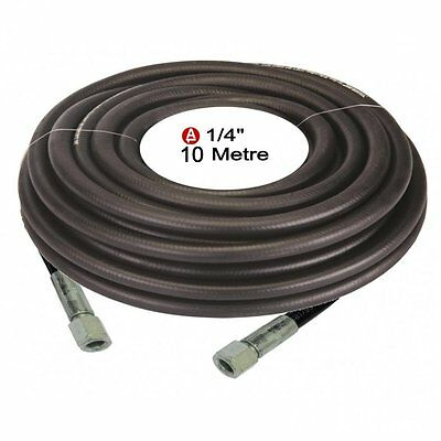 "Compressor Air Line Rubber Hose 10M 1/4"" BSP 5/16"" ID 8mm 633578 NEW pneumatic"