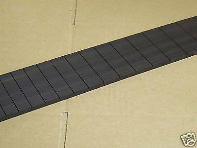 GUITAR  FINGERBOARD  EBONY. SLOTTED   24.6 inch  LP SCALE.