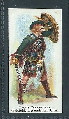 Cope British Warriors No 42 Highlander Of Prince Charles