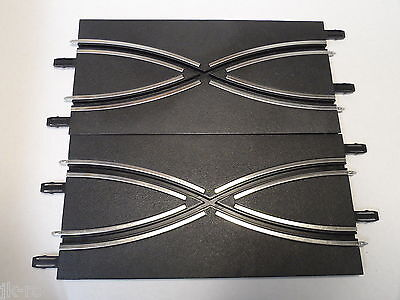2 x New Carrera Go Track Lane Change / Crossover Sections 61609