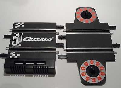 New Carrera Go Lap Counter + Start Grid Track Sections (3 Connector Plug Version