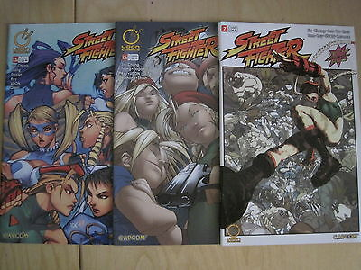STREET FIGHTER : #s 7,12 B, 13 A. DEVIL'S DUE PUBLISHING. 2004