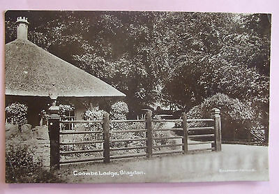 RP Postcard 1914 COOMBE LODGE BLAGDON Nr BRISTOL SOMERSET