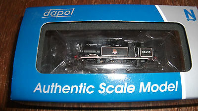 TERRIER CLASS  0  6  0  STEAM LOCO No 32655  NEW BR EARLY CREST BLACK - DAPOL