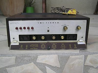 FISHER X-101 C Ampli a lampes USA 7591 Telefunken