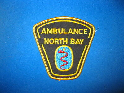 North Bay Ambulance Patch - Ontario