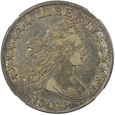 1802 Close Date S$1 NGC XF40, BB-241, B-6