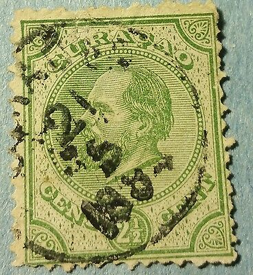 Curacao   Scott#1  Used Stamp ......worldwide Stamps