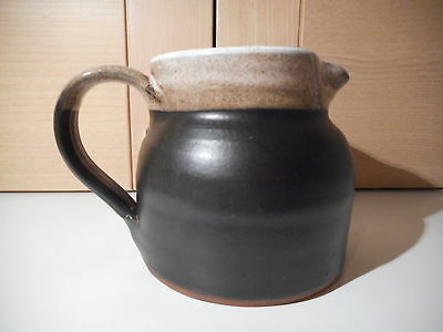 Stephen Pearce Shanagarry Brown with White Interior Jug