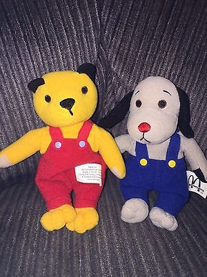 McDONALDS SOOTY & SWEEP TOY BEARS - 2001