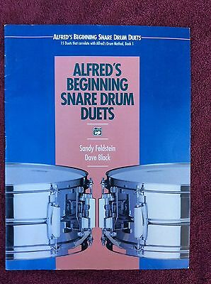 Alfred's Beginning Snare Drum Duets 15 Duets