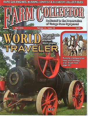 Cream separators, Steam plowing in UK, Marshall Britannia tractor, Weber Engine