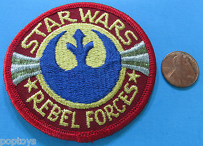PATCH 1980 vintage Thinking Cap Co REBEL FORCES - Star Wars