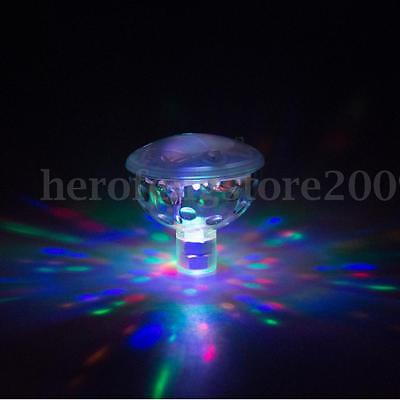 WaterProof LED Float Disco Light Swimming Boat Pond Pool Party Underwater Lamp