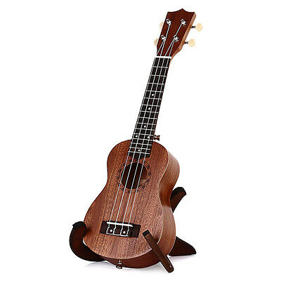 "21"" Concert Ukulele Mini Hawaiian Guitar 15 Frets Musical Instrument Sapele Wood"