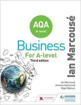 AQA Business for A Level by Ian Marcouse 9781471835698 (Paperback, 2015)