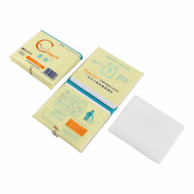 Tavel Hotel Water Resistant Disposable Closestool Toilet Seat Cover Paper 12pcs