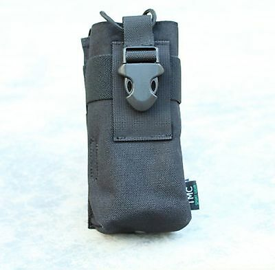 New Black Sport Gear 1000D Cordura MOLLE Radio Pouch For Airsoft Hunting Games