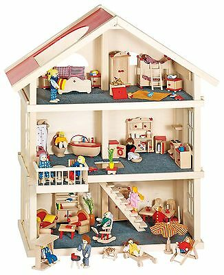Goki Dolls House (Dolls not included)