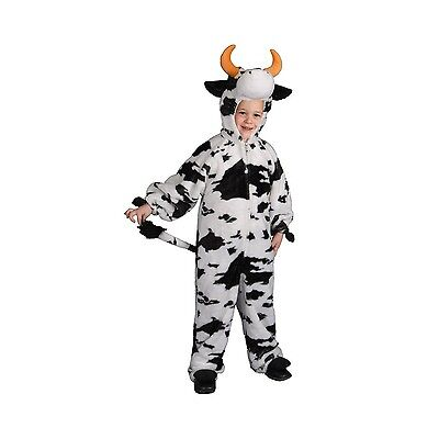 Dress up America Toddler T2 Plush Cow Costume Set 1-2 years