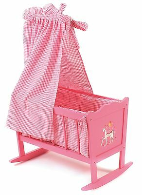 CHIC 2000 Bayer Doll Little Fairy Design Cradle (Pink)