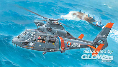 Trumpeter AS365N2 Dolphin 2 Helicopter in 1:35 9365106 Trumpeter 05106  X