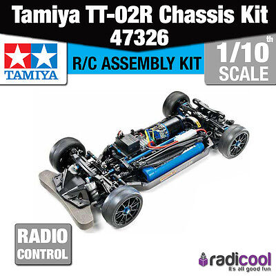 New! 47326 TAMIYA TT-02R 1/10th CHASSIS ASSEMBLY KIT R/C RADIO CONTROL RACE SPEC