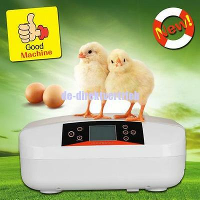 56 Egg Incubator Fully Automatic Digital LED Turning Eggs Poultry Testing light