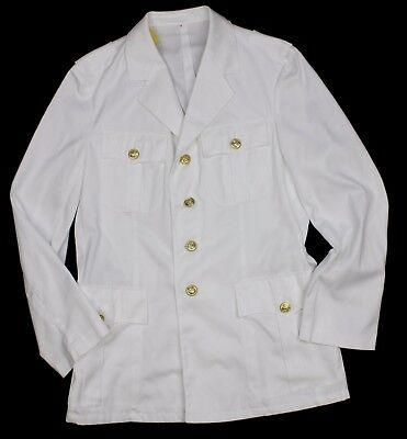 German Navy Officers White Tropical Dress Jacket