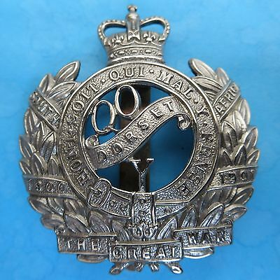 The Queen's Own Dorset Yeomanry (Gaunt) British Army/Military Hat/Cap Badge